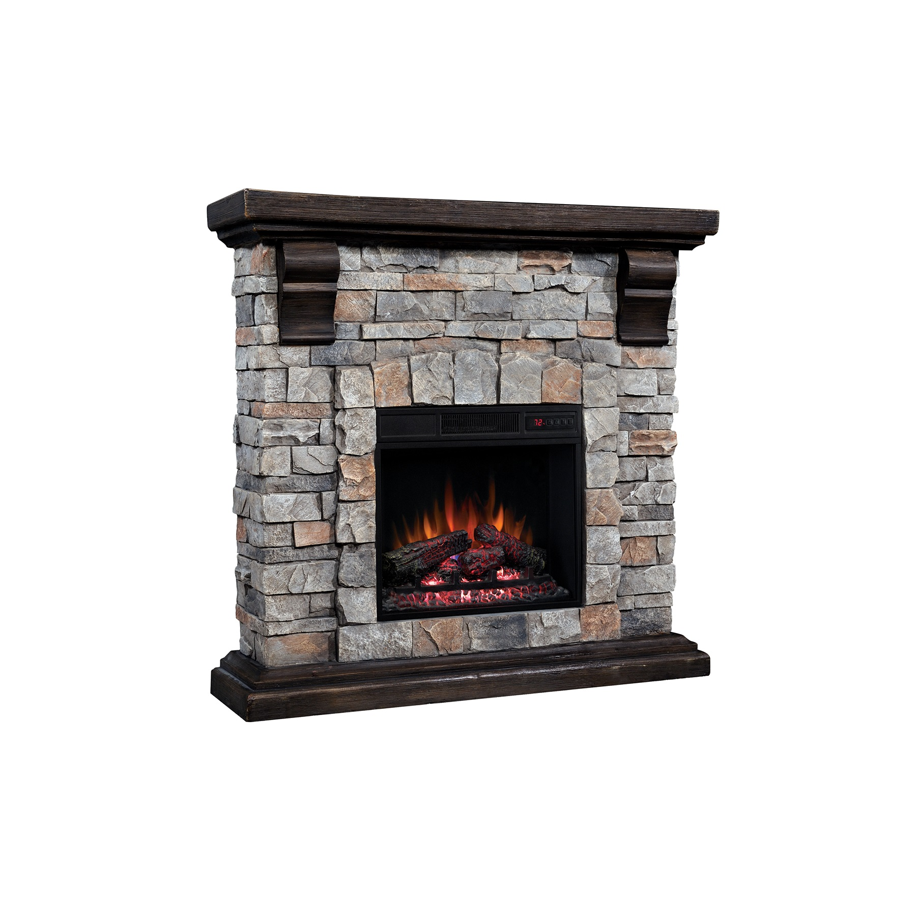 Electric Fireplace Wall 2021